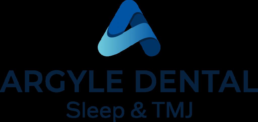 Argyle Dental Sleep & TMJ logo in blue